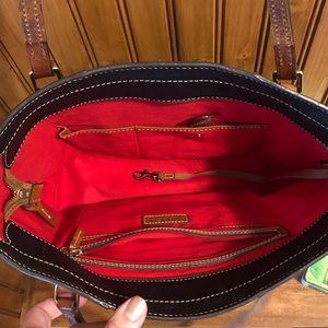 Dooney & Bourke Bags - Dooney & Bourke Lexington Shopper black pebble